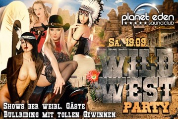 19.09.: Wild West Party