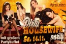 Samstag, 14.11.: Dirty Housewife Party