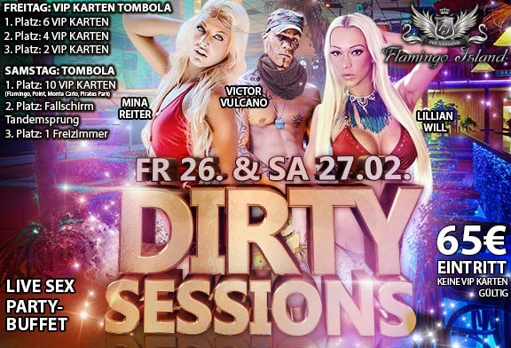 26.+27.02.2016: Dirty Sessions Party